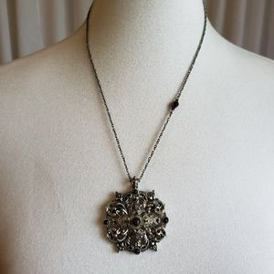 Lucky Brand Antique Gold Toned Necklace